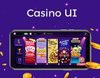 Casino App UI/UX