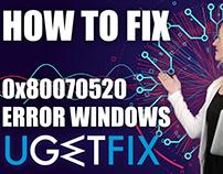 How to Troubleshoot Error Code 0x80070520 on Windows 10