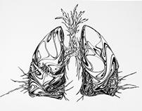 15-16 Pen Drawing