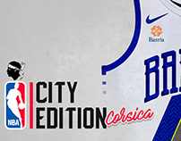 NBA City Edition - Corsica Jerseys