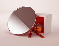 ATISBA - Kubrick inspired vanity mirror