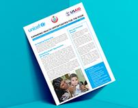 UNICEF Egypt | Newsletters Design