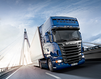SCANIA THE ROAD GIANT