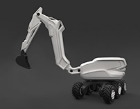 Concept of universal construction machine-Diploma 2014