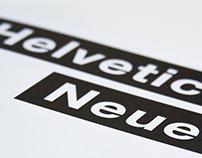 Helvetica Neue: A Type Specimen Book