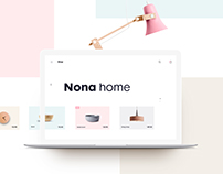 Nona Home E-commerce Website
