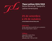 Exposição Tipos Latinos_Coordenação e Montagem