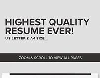 Active Resume CV - Lambert