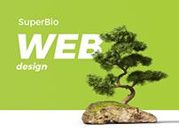 Super bio - Web design