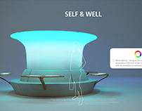 SKANSKA - Creation of well-being furniture sets.
