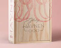 Logo and identity design for food market Havnen3