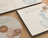 """Diseño CD- Digipack """"La Buena Mujer"""""""