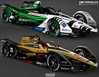 2018 Formula E GEN2 Livery Concepts