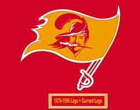 Past Meets Present: NFL Logo Merge