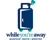 While You're Away Home Watch Logo