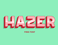 Hazer Typeface ( Free Font )