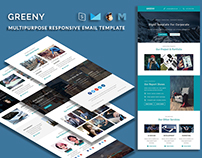 GREENY - Multipurpose Responsive Email Template
