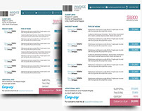 Corporate Invoice Template [PSD] (Freebie Print Ready)