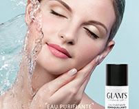Advertising Campaign for Glam's Cosmetics
