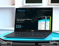 Dokktor App Landing Page