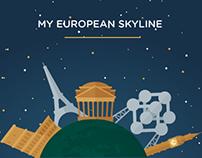 My European skyline | Web Application