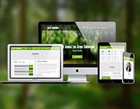 Free Responsive Non Profit Landing Page