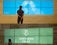 Leviathan Reimagines Northern Trust Messaging Wall