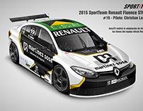 2015 Renault Fluence STC2000 SportTeam - Argentina