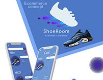 ShoeRoom -Ecommerce