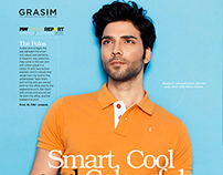 Grasim Advertorial for MansWorld Magazine March'15