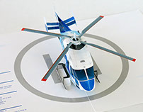 Pop-up helicopter.