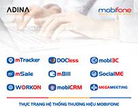 Thiết kế hệ thông Thương hiệu (Sub-brand) Mobifone