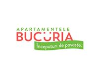 BUCURIA Apartments - visual identity