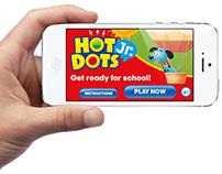 App Development: Hot Dots Jr. Preschool Card Game