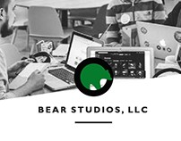 BEAR STUDIOS | Website Mockup Sample