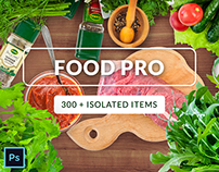 Food Pro Collection - All in One- 300+ isolated objects