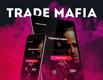 Trade Mafia Landing Page