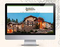 Responsive web design for Sterling