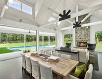 The Modern Barn Design by Plum Builders
