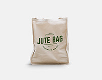 Free Jute Bag Mockup Download
