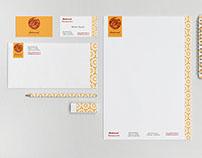 Brand Identity Design, Shehrazad Restaurant, Prague