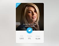 Twitter Profile Card