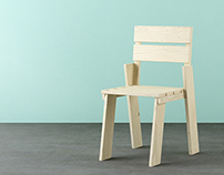Landa chair // LUFE