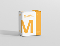 Box Mockup - High Rectangle Big Size