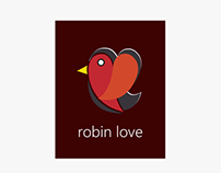 Logo Design for Robin Love, Real Estate