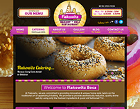 Website UI - Flakowitz Boca Restaurant Website Draft