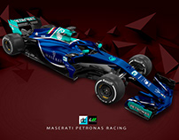 Maserati Petronas Racing F1 Concept (Late Braking)