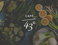 Café Parallel 43° Website Design & Development
