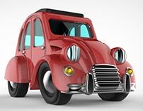 Citroën 2CV Choro-Q