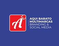 Aqui Barato Multimarcas | Branding & Social Media